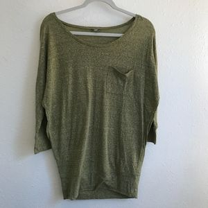 Rubbish Olive Green Tunic